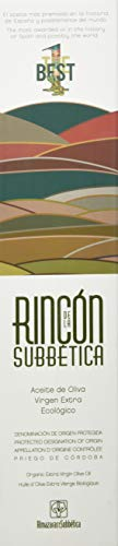 Rincon De La Subbetica Bio-Olivenöl AOC - Gewinner der Weltmeisterschaft 2012, 2015, 2016 WBOO - 500 ml