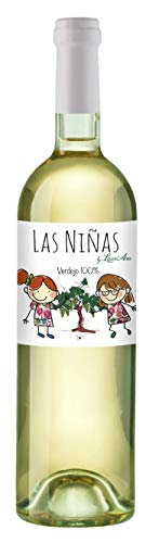 LAS NIÑAS Ecológico - Vino Blanco Orgánico Verdejo - Vino de la Tierra de Castilla- 1 botella x 750 ml