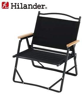Hilander(ハイランダー) アルミデッキチェアブラック
