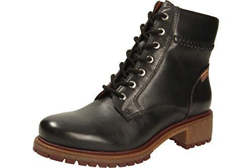 Pikolinos ASPE W9Z - Botas de piel, color Negro, talla 35 EU