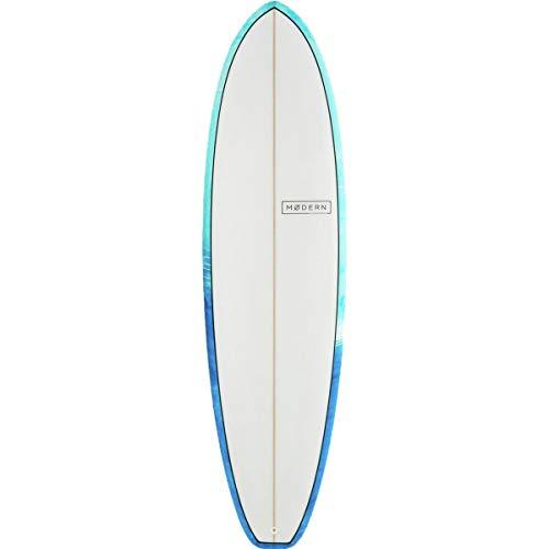Modern Surfboards Falcon PU Surfboard Blue, 6ft