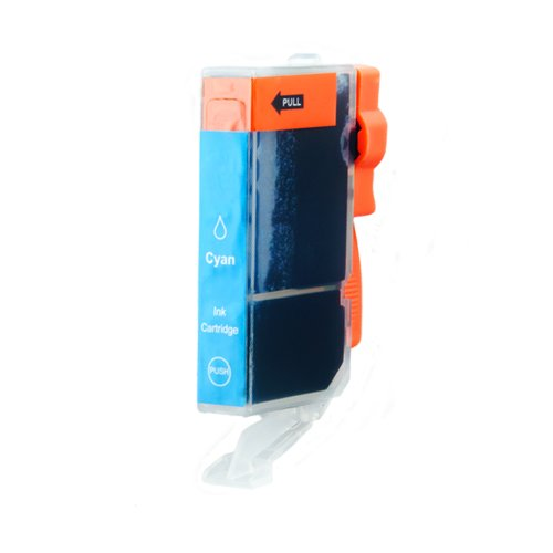 1Cartucho de tinta Calidad de Platinum de serie para Canon CLI-8C cian, 16ml contenido de tinta XL con chip y indicador, por ejemplo, para Canon Pixma IP 4500X, MX 700, IP 5200R, MP 500, MP 800, IP 4200X, IP 4500, MP 600, MP 810, MP 600R, IP 5300, IP 4300, MX 850, MP 530, MP 800R, MP 830, IP 4200, IP 6700D, IP 6600, IP 6600D, PRO 9000Mark II, Pro 9000, IP 3500, MP 510, IP 3300, IX 5000, IX 4000r, IX 4000, MP 970, MP 520, MP 520X, MP 610, IP 5200