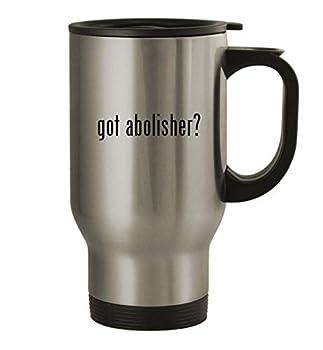 got abolisher? - 14oz Stainless Steel Travel Mug Silver