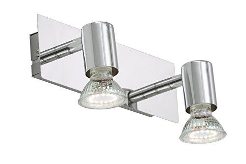 Briloner Leuchten Wandleuchte, Deckenleuchte, LED Lampe, Deckenlampe, LED Strahler, Wohnzimmerlampe, Deckenstrahler, Wandlampe, Deckenspot, Deckenbeleuchtung