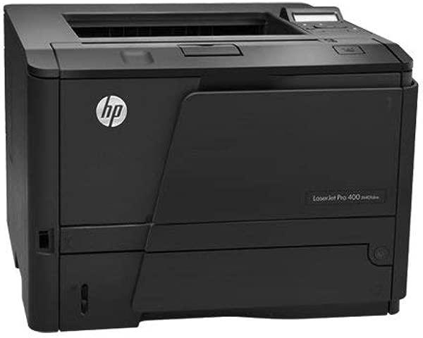 经过认证的翻新惠普 LaserJet Pro 400 M401DNE M401 CF399A BGJ 激光打印机,带碳粉 90 天保修