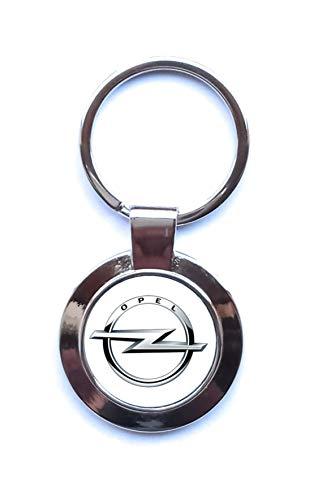 Print Corner Porte-clés Factory en Métal Argenté - Opel