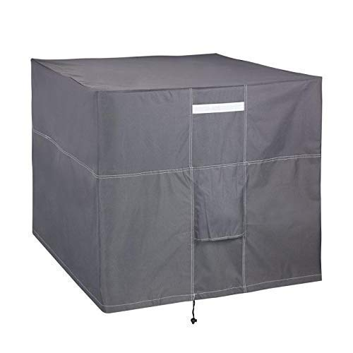 LBG Products Outdoor Air Conditioner Cover for Standard Outside American Central AC Units (28' L x 28' W x 32' H)