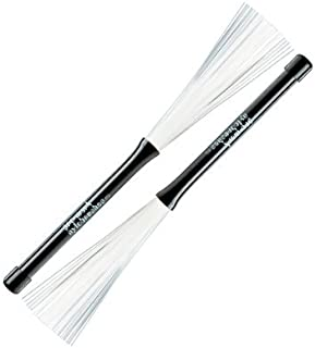 Promark B600 Nylo-Brush Nylon-Bristle Retractable Brushes-(1 pair)