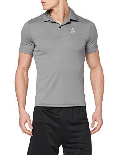 Odlo Herren Poloshirt s/s CARDADA, Steel Grey, XL, 222202_10352_XL