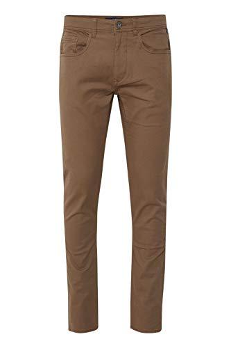 Blend Saturn Herren Chino Hose Stoffhose Aus Stretch-Material Slim Fit, Größe:W30/32, Farbe:Mocca Brown (71508)