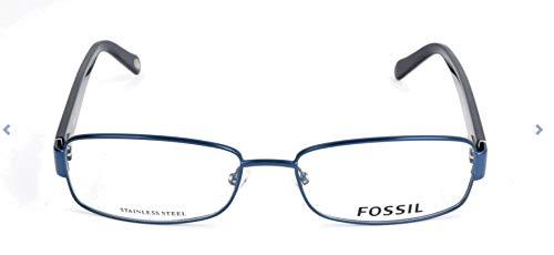 Fossil Brillengestelle FOS 6006 Rechteckig Brillengestelle 55, Blau