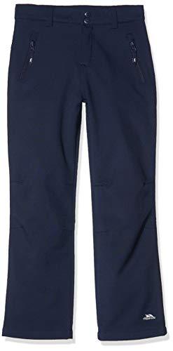 Trespass Galloway, Navy, 7/8, Winddichte Softshellhose für Kinder / Unisex / Mädchen und Jungen, 7-8 Jahre, Blau