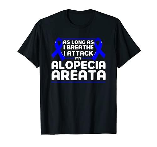 Alopezie Solange ich atme Alopecia Areata Bewusstesein T-Shirt