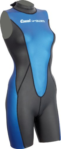 Cressi Glaros Shorty Lady Corpetto in Neoprene, 1,5 mm