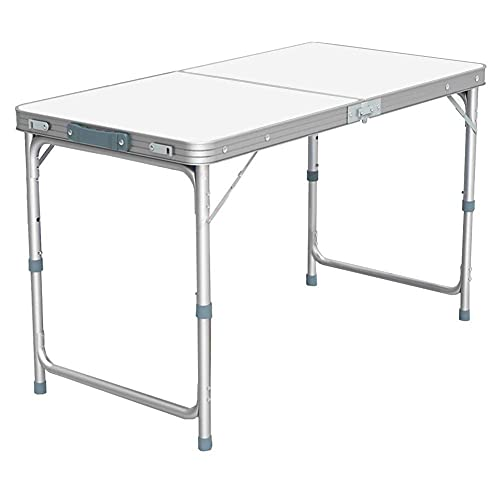Nestling® Aluminium Portable Trestle Camping Picnic Dining Folding Table Outdoor (1.2M Table)