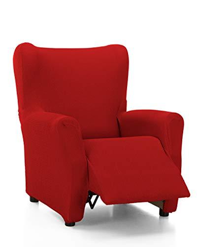 Martina Home Tunez - Fodera per poltrona relax completa, colore: rosso
