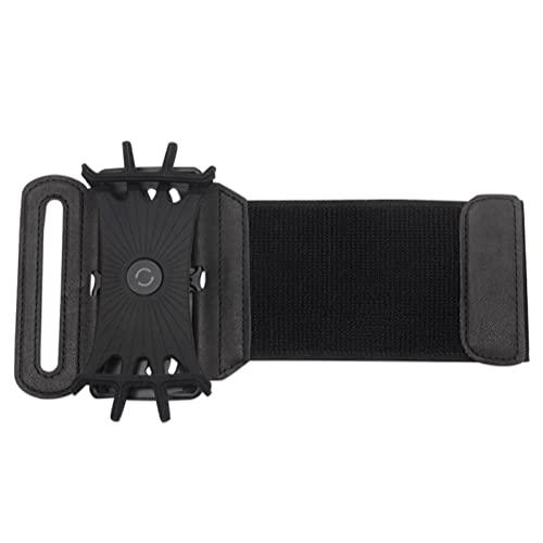 Pulsera telefónica de pulsera 180 grados giratorias rotables deportes soporte soporte de brazalete desmontable accesivo portátil