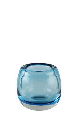Kaheku Vase Mattia seeblau Durchmesser 9,5 cm, Höhe 8 cm 1182002517