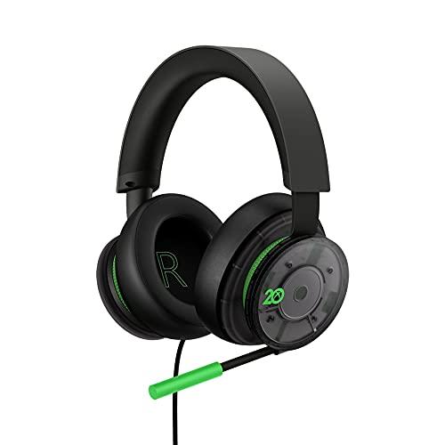 Microsoft Audífonos Alámbricos Xbox - 20° Aniversario - Special...