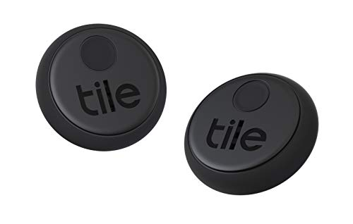 Tile Sticker (2020) 2個パック 探し物/スマホが見つかる 紛失防止 日米シェアNo.1 スマートスピーカー対応[Works with Alexa認定製品]【日本正規代理店品】 RE-25002-AP