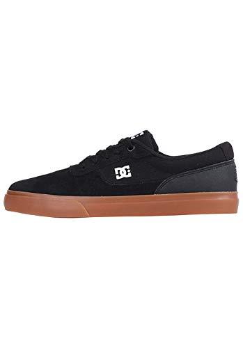 DC Shoes Switch, Zapatillas de Skateboard Hombre, Negro (Black/Gum Bgm), 42 EU