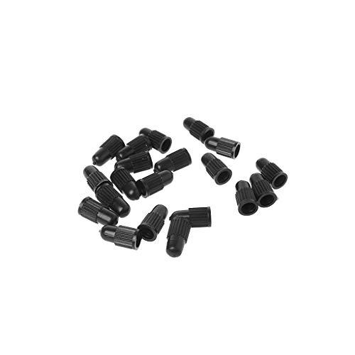 ciriQQ Lot de 20 bouchons de valve de pneu de vélo en plastique professionnel anti-fuite pour valve Presta