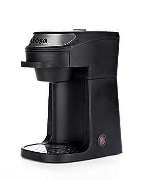 Aiosa Auto Shut Off Single Cup Drip Coffee Maker,Personal Coffee Maker,One Cup Serve Brew Machine