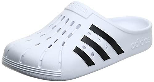 adidas Unisex Adilette Clog Dusch-& Badeschuhe, Mehrfarbig Ftwbla Negbás Ftwbla, 39 1/3 EU
