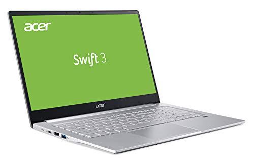 Acer Swift 3 (SF314-42-R8ZV) 35,6 cm (14 Zoll Full-HD IPS matt) Ultrathin Notebook (AMD Ryzen 5 4500U, 8 GB RAM, 512 GB PCIe SSD, AMD Radeon Graphics, Win 10 Home) silber