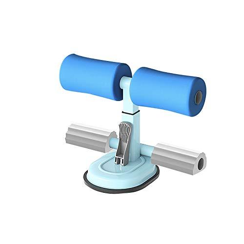 Barra de abdominales portátil, multifuncional, ajustable, asistente para sentadillas, ayuda para abdominales, entrenamiento de espalda