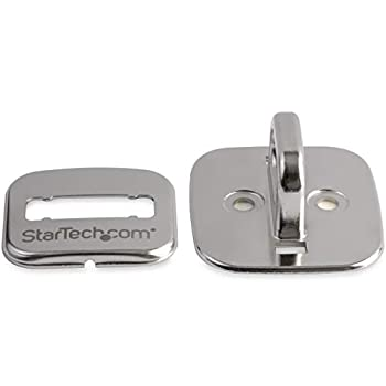 StarTech.com Fente de verrouillage de sécuritépour ordinateur portable en acier - Plaque d'ancrage pour antivol a verrou (LTANCHOR)