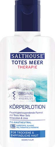 Salthouse Totes Meer Therapie Körperlotion - 6x 250 ml