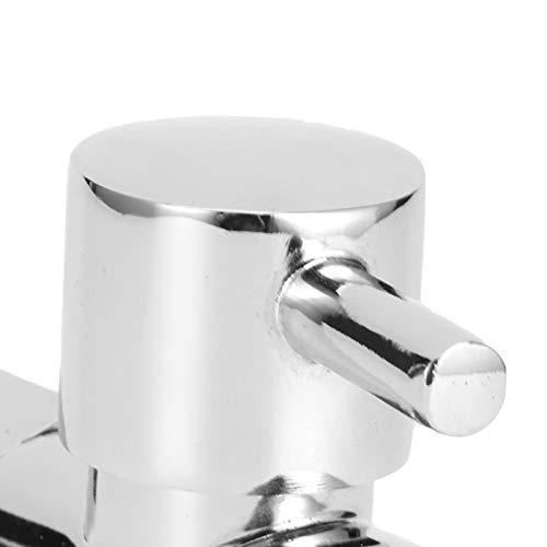 Válvula de desvío de cabezal de ducha Válvula de desvío de grifo fuerte Válvula de desvío Ducha para baño(#1)