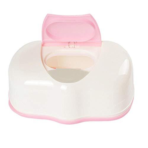QUK Hot Caja de pañuelos húmedos Caja automática de plástico Toallitas para bebés Prensa Diseño emergente Accesorios para el hogar NDS |