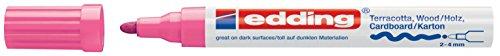 edding Mattlack-Marker edding 4000 creative, 2-4 mm, rosa