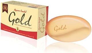 Mysore Sandal Gold Soap, 125 g (Pack of 2)