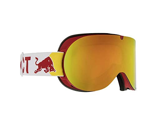 Red Bull Spect Eyewear Goggle Schneebrille Bonnie-005 Red/Red Snow