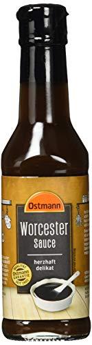 Ostmann Gewürze Worcester Sauce, 4er Pack (4 x 165 g)