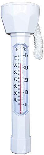 Cihely Schwimmendes Schwimmbadthermometer, leicht ablesbar, schwimmendes Wasserthermometer für Schwimmbäder, Spas, Whirlpools, Fische und Teiche