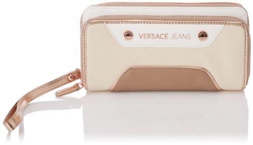 Versace Jeans Portemonnaie Elfenbein