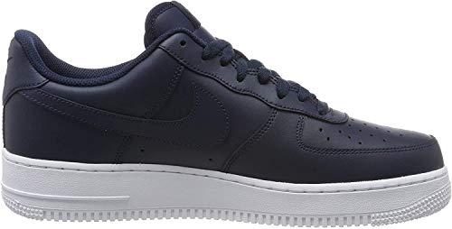 Nike Herren Air Force 1 '07 Sneakers, Weiß, 42.5 (US 9)
