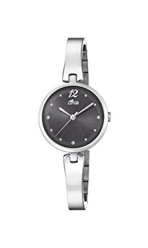 Lotus Watches Reloj Análogo clásico para Mujer de Cuarzo con Correa en Acero Inoxidable 18445/4