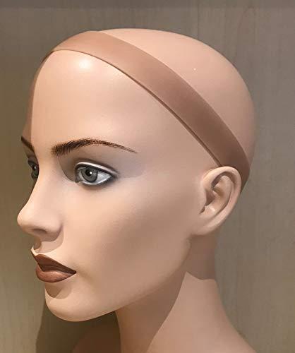 Stop-it Bande en silicone pour perruque avec fermeture Velcro