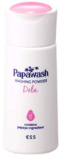 ESSパパウォッシュ・デラ(しっとりタイプ60g約2ヶ月分)パパイン酵素洗顔パウダー(本品)
