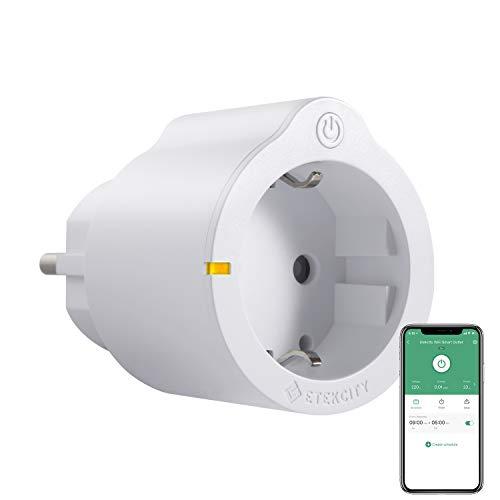 Enchufe inteligente WiFi Plug con mando a distancia, enchufe Alexa (Echo y Echo Dot), Google Home e IFTTT, no requiere hub, con control de aplicación y temporizador, Etekcity, solo a 2,4 GHz.