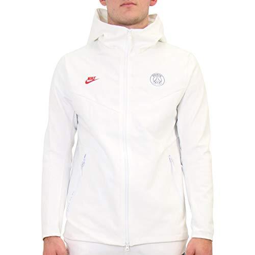 Desconocido Herren Paris Saint-Germain Tech Pack Sweatshirt, weiß, XL