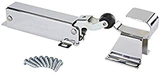 Kason 1094 SureClose Hydraulic Door Closer and Hook, Exposed Mounting, Adjustable Wide-Hook, 1-1/8 Inch Offset