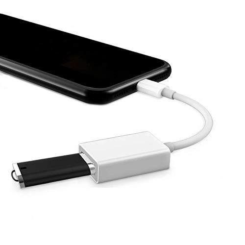 USB変換 アダプタ iphone &ipad兼容 OTG ケーブル カメラ USBメモリ 写真やビデオやデータを双方向伝送 MIDI キーボード マウス ヘッドホン 接続可能iPhone 11 Pro Max/Xs Max/XR/X/8 Plus / 7 Plus/SE/iPad Mini/Air iOS 13以上対応