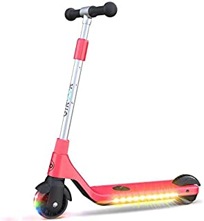 Gyroor Electric Scooter for Kids, Teens, Boys and Girls, Lightweight and Adjustable Handlebar, Rechargeable Battery, 6 MPH...