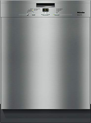 Miele G 4943 SCU Series 120 Unterbaugeschirrspüler mit 3D-Besteckschublade / A+++ / 237 kWh / AutoOpen-Trocknung / 14 Maßgedecke / Edelstahl-Cleansteel / 45 dB / 5 Spülprogramme